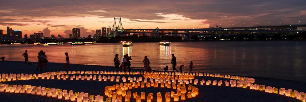 Summer lantern festivals in Tokyo